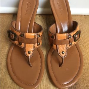 Cole Haan Thong Wedge Sandals